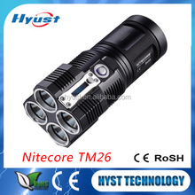 Nitecore TM26 XM-L2 LED Torch Light 5 Mode Smart Display 3500Lm High Power Rechargeable LED Flashlight Torch