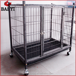 Welded Wire Mesh XXL Cheap Iron Dog Cage Used For Sale On Alibaba (Direct Sale)