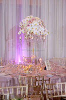 crystal table chandelier centerpieces, crystal wedding candelabra decoration MH-TZ059