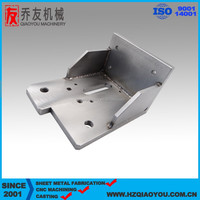 China OEM stainless steel hight precision CNC milling part , welding parts