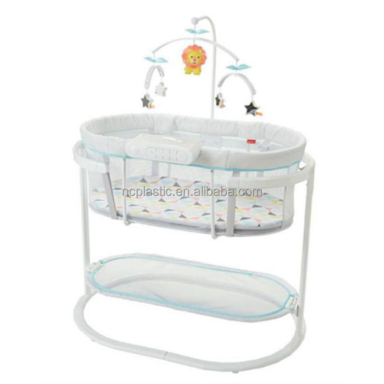 Soothing Motions Bassinet in Windmill Sways and Vibrates <strong>w</strong>/ Music