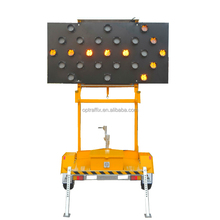 Buy 2017 Cost Efective Road Traffic Directional Portable Solar LED Arrow Boards