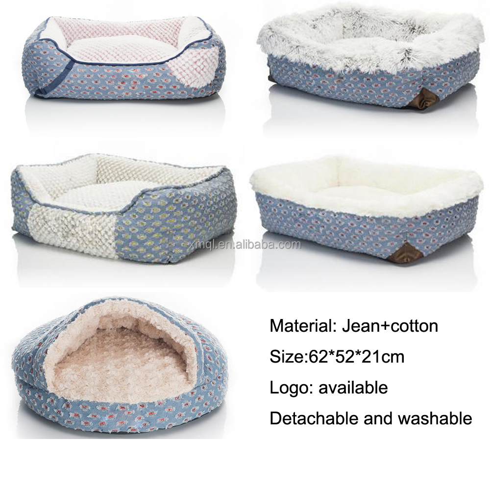 Washable Memory Foam Bed For Dog Luxury Design