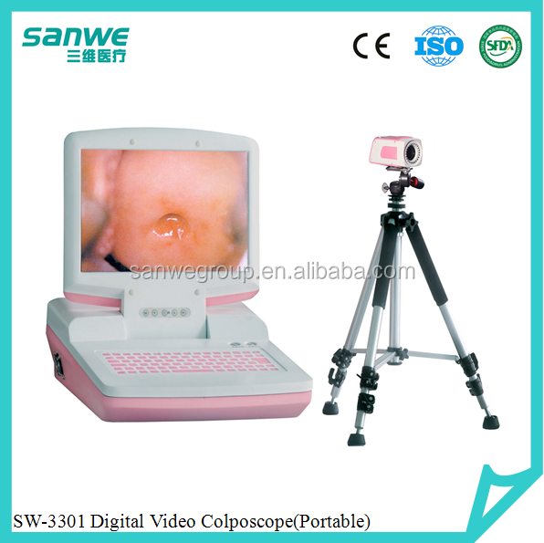 SW-3303 Trolly Type Digital Optical Colposcope/Video Colposcope/Trans-vaginal Colposcope