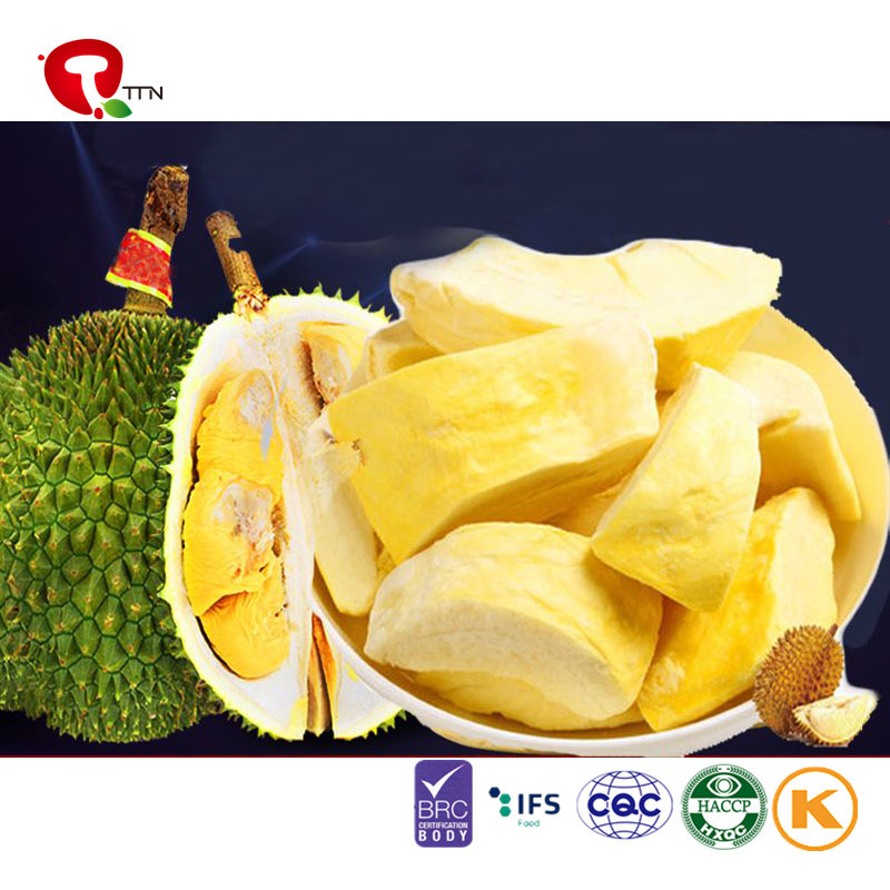 hot sales cheap bulk wholesale Freeze Dried (FD) durian fruit dice