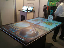 transparent glass touch screen 100'' of infrared touch screen