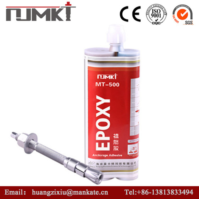 NJMKT high strenght bolt Epoxy Main Raw Material Chemical Anchor Epoxy Resin Conical-shaped Specified Adhesive Anchor