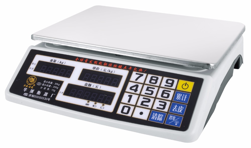 China electronic table top commercial weighing scale