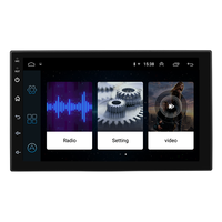 Best Sell 1024*600 HD Touch Screen 7inch Android Universal Car Media Player Support Many Car