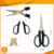 "6.9"" LFGB best quality stainless steel material office scissors"