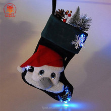 Personalised Decorative Exquisite Polyester Big Christmas Stockings