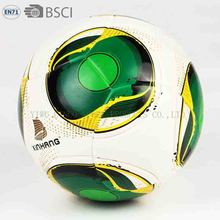 special logo printing and hand stitch soccer ball