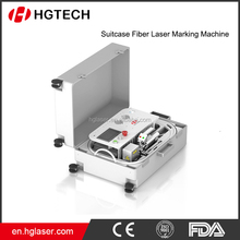 Mobile Cover Making Memory Card Printing By Suitcase Fiber Laser Marking Machine LSF--B