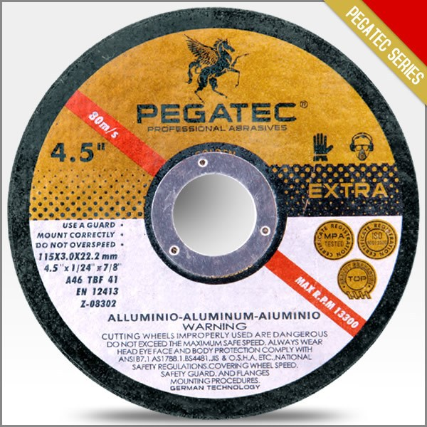 "PEGATEC 4.5"" Reinforced Resin Bonded Cutting Offf Disk"