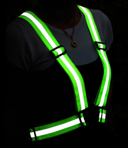 high bright green color mesh cheap reflective safety vest