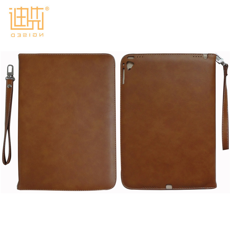 New DeSign Sleek waterproof cover pu leather laptop sleeve tablet stand for ipad