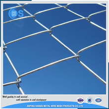 High quality green color vinyl coated chain link fence