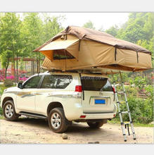 4x4 open-style pop-up car roof tent awning room