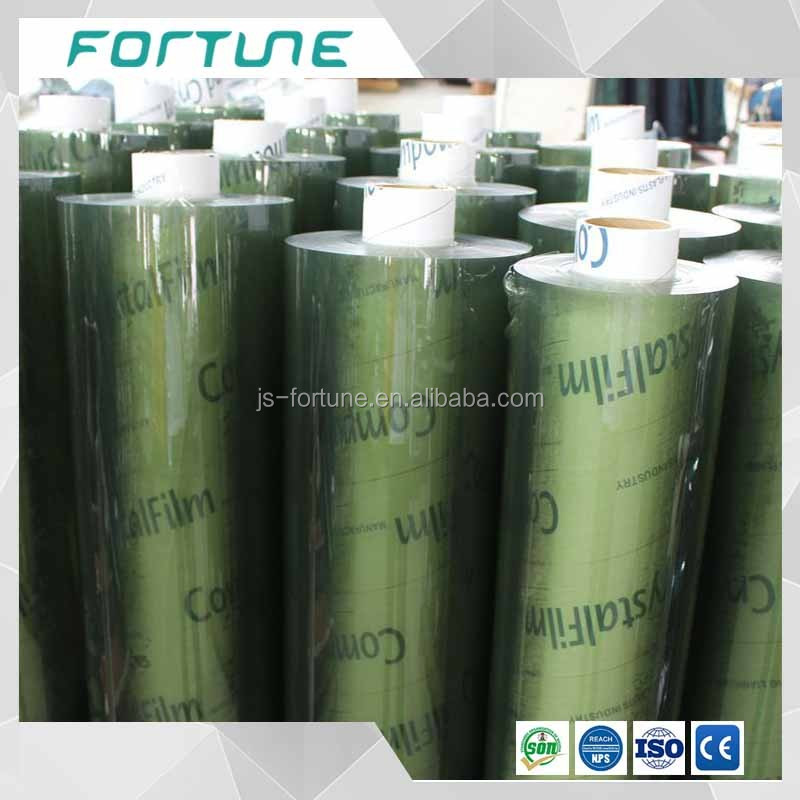 super clear transparent soft pvc film and transaprent plastic glue