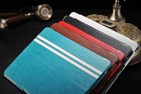 2014 hot sell genuine leather tablet case cover for 9.7 inch tablet case pc