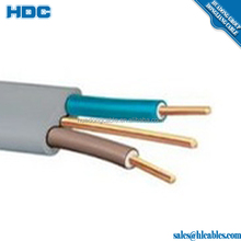 4 core 28AWG wire telephone line cord cable with BC conductor electrical wire 6P4C flat cable from factory