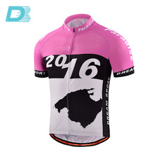 Custom Design Blank Printing Professional Cycling Short Jersey