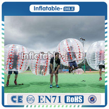 Hight Quality PVC/TPU Body Bumper Ball, Body Game Soccer Bubble, ,Durable Inflatable Bubble Football