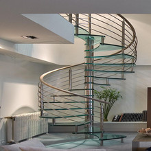 can cured of the appearance in the handrail of this kind of spiral staircase