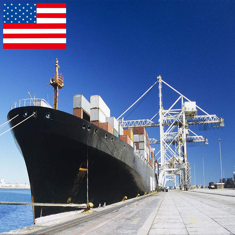 shenzhen forwarder ocean <strong>freight</strong> import goods from china to usa