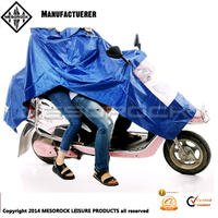 Lightweight Adult Reusable Portable Motorcycle Raincoat Scooter Rain Poncho