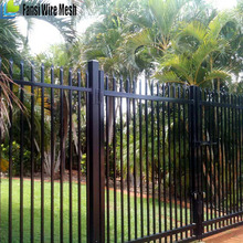 China Factory Exporter Easy Install Wrought Iron Fence Panels