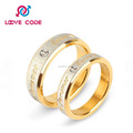 2016 Hot Sale Love Symbol Ring, Stainless Steel Ring With Letter Design