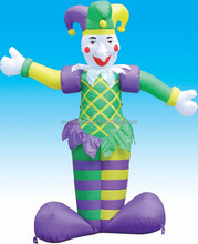 Inflatable Halloween decoration of jester