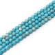 Cheap Turquoise Gemstone Loose Beads Round 6mm 8mm Energy Stone Healing Power for Jewelry Making Chinese Blue Turquoise