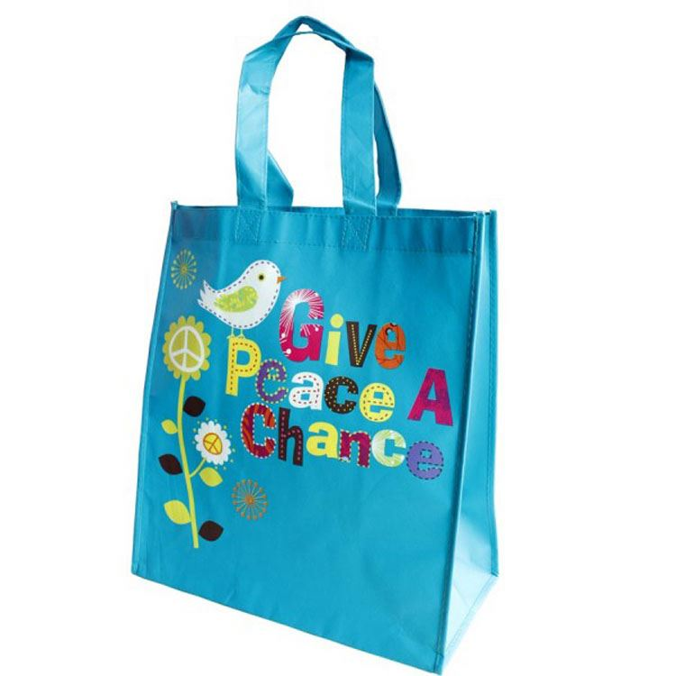 Low Price Custom Print Foldable Tote Nonwoven Bag