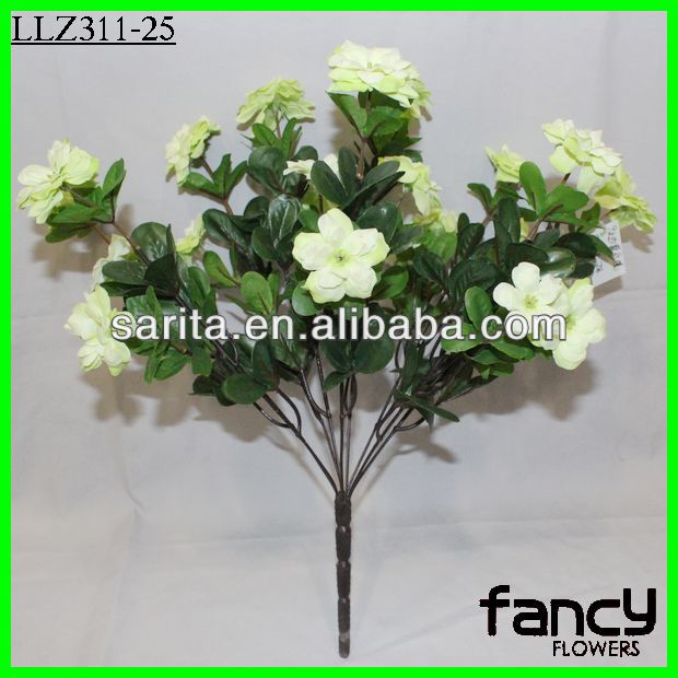 9 heads artificial desert rose flower