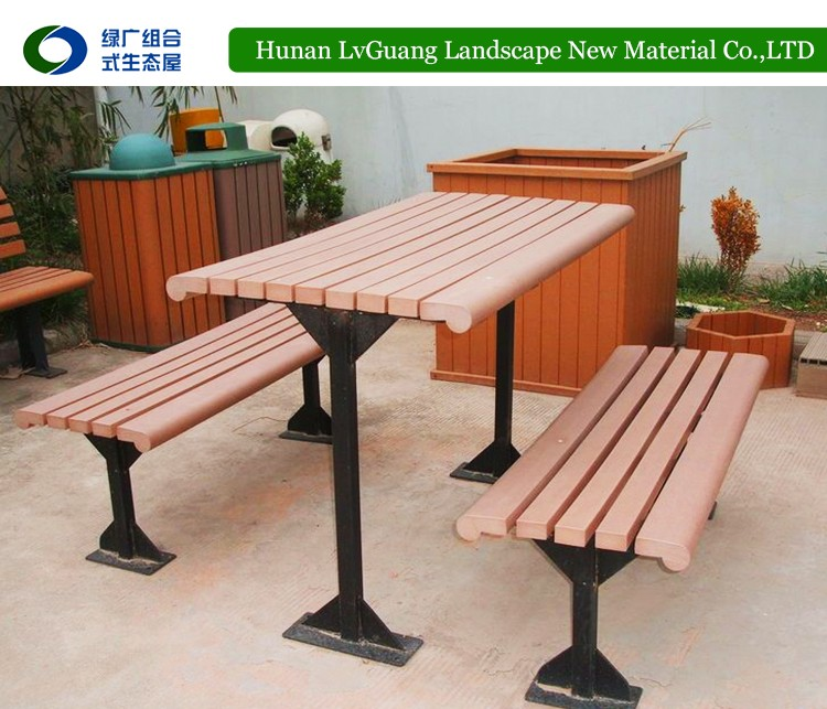 factory simple design cheap wpc iron garden bench drawings