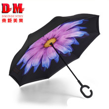 Magic rain C hook reverse ambrella umbrella for christmas gift