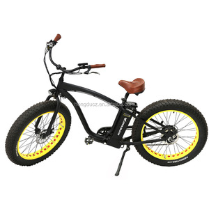 Big Power High Speed Fat Tire 4.5 fat tire Snow Beach Electric Bicycle