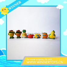 Manufacture collectible fruit custom action figure