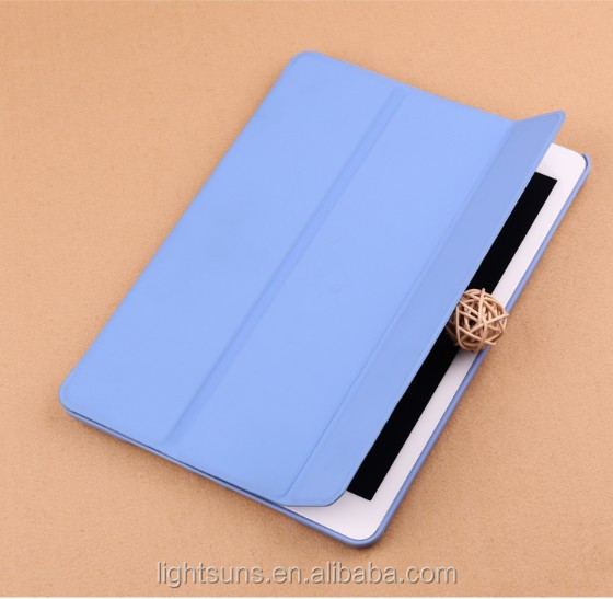 Most Popular Wake / Sleep Tri-Fold Smart Leather Phone Cases for iPad 2/3/4/5/Air