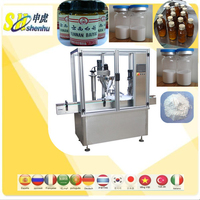 Shenhu Medicine syrup filling and aluminum cap sealing machine