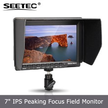 SEETEC 7 inch high resolution 1280*800 IPS HDMI lcd monitor bnc output input for gimbals jib crane stabilizer