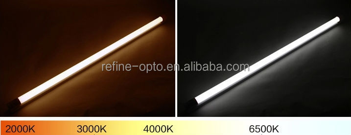 High lumen 130lm/w led tube t8,86-265v/ac led tube t8