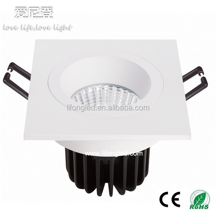 led lighting product, led downlight 7W 9W led square eyeball light