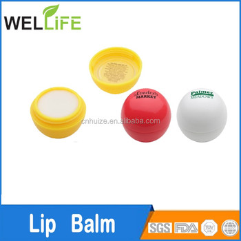 oem skincare wholesale lip ball relieving and hydrating lavender lip balm