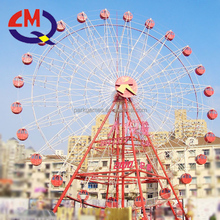 Outdoor amusement theme park ferris wheel luna park equipment