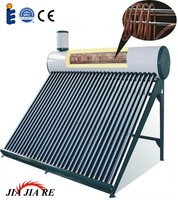 Best popular high efficiency pre-heated solar geyser with copper coil exchanger