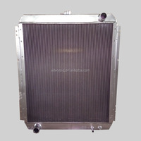 High Performance Aluminum Water Tanks PC200-7 Excavator Cooling System
