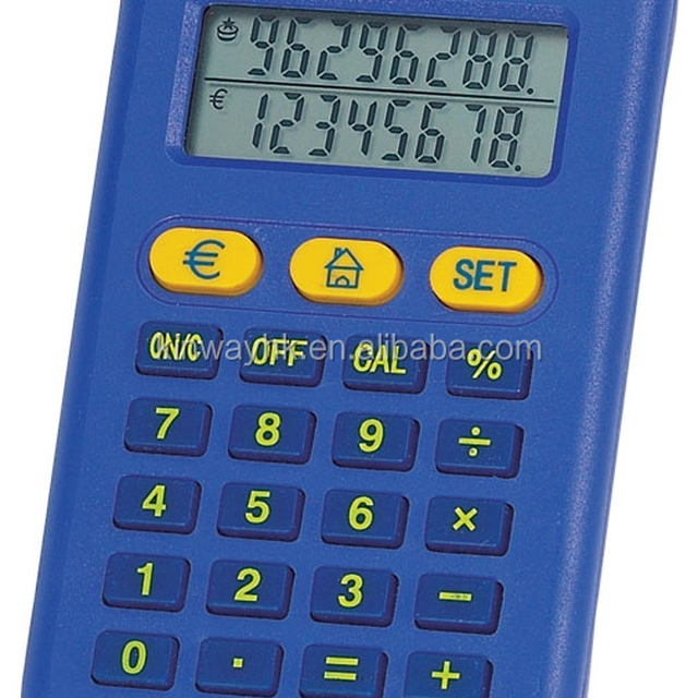 famous electronic 8 digit pocket currency converter with calculator